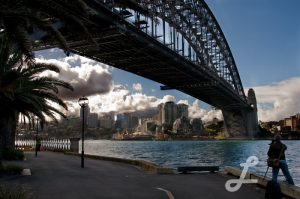Photographing the Harbour Bridge