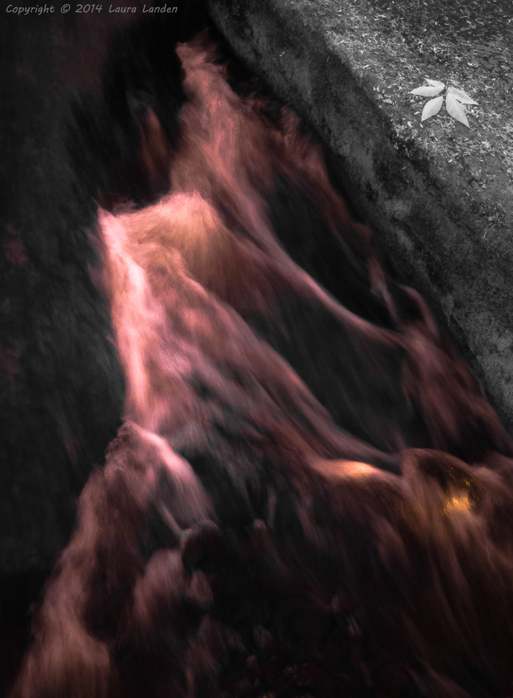 Stepstone Falls in IR