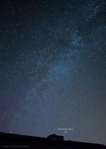 Andromeda Galaxy 2.5 sec @ f/1.8, ISO 6400