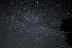 Milky Way 1 5.0 sec @ f/1.8, ISO 6400