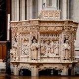 Nat'l Cathedral-Canterbury Pulpit