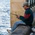 Fishing from Harbour Bridge